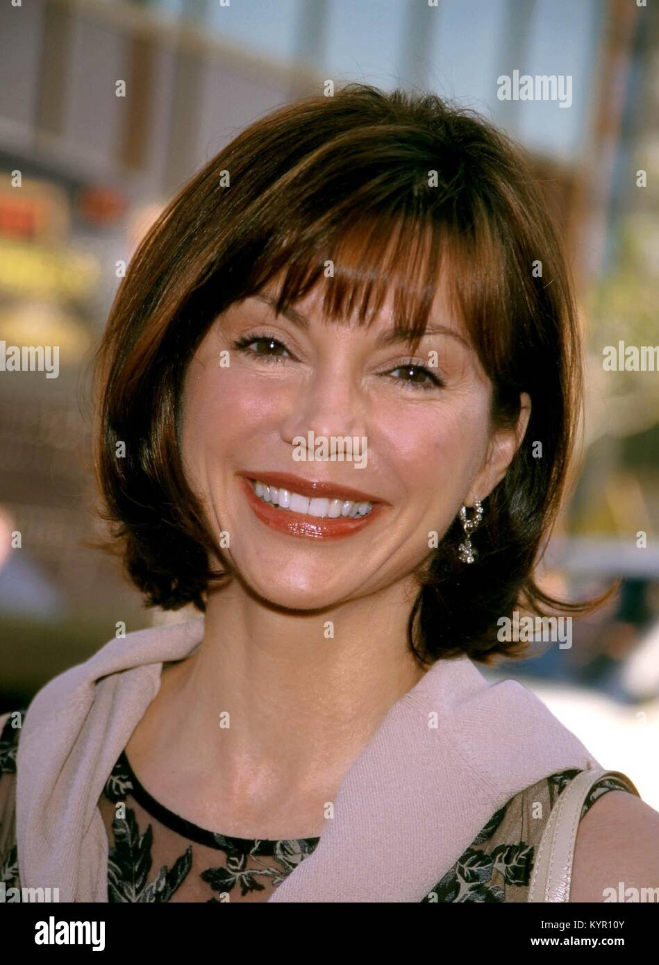 """Actress Victoria Principal at the premiere of the film """"Lethal Weapon 4"""" in Los Angeles, Ca. July 7, 1998 ©RTBoas/ Stock Photo"""
