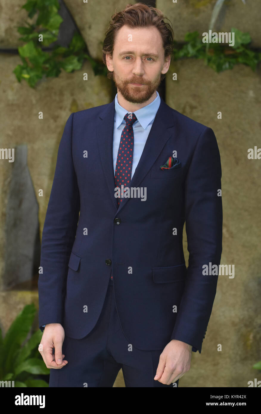 Tom Hiddleston,'Early Man' - World Premiere,BFI IMAX,Southbank, London.UK - Stock Image