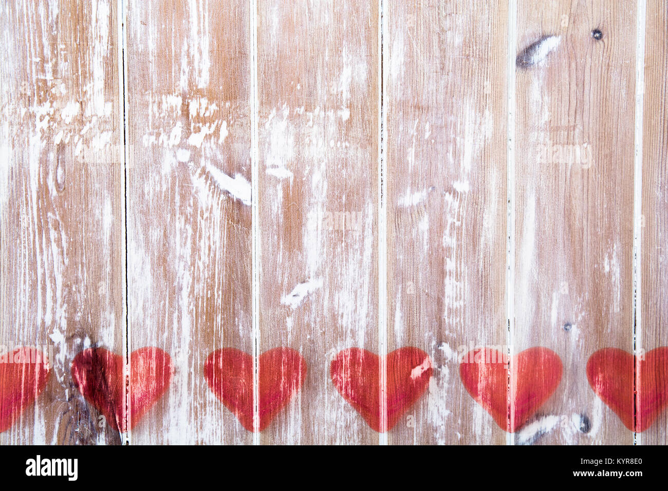 Valentines Day Love Heart On Rustic Wood Background Image Template For Or Themed Cards And Greetings