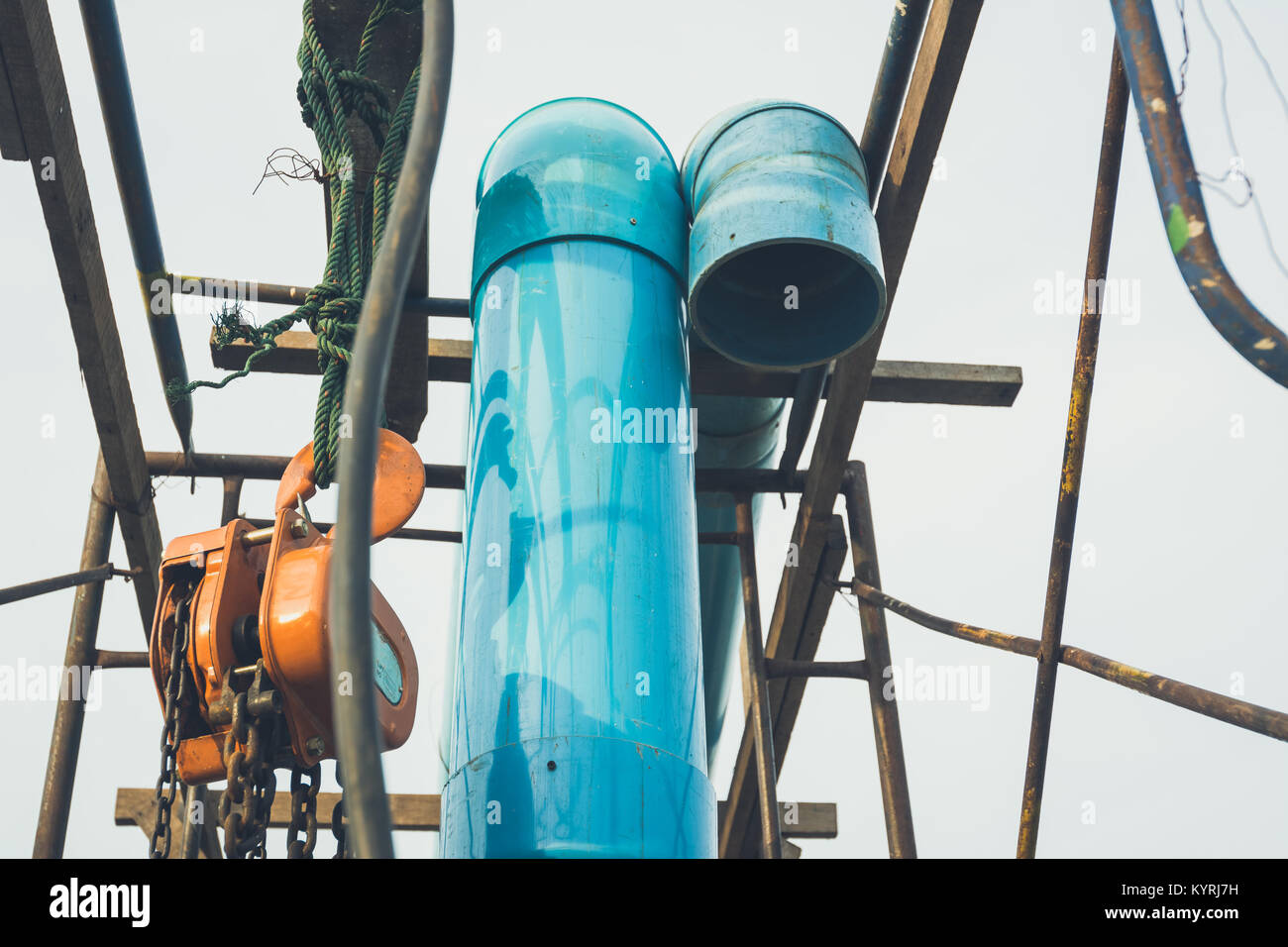 Old water pipe tone vintage Stock Photo: 172008245 - Alamy