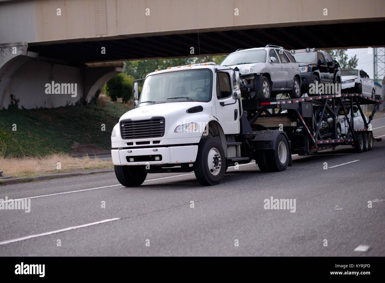 Car Hauler Stock Photos & Car Hauler Stock Images - Alamy
