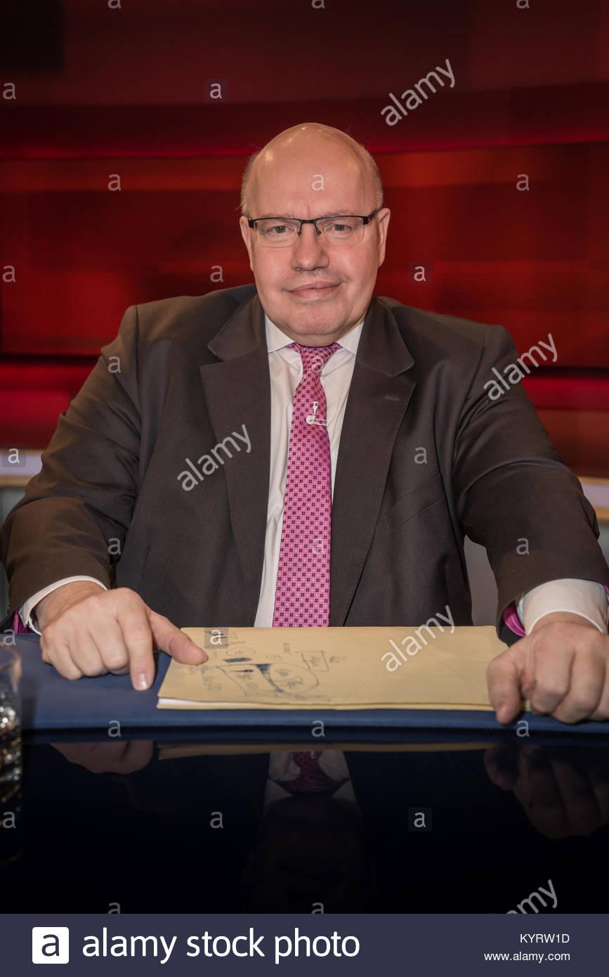 Peter Altmaier, CDU, Chef des Bundeskanzleramtes und Bundesminister für besondere Aufgaben sowie Bundesminister - Stock Image
