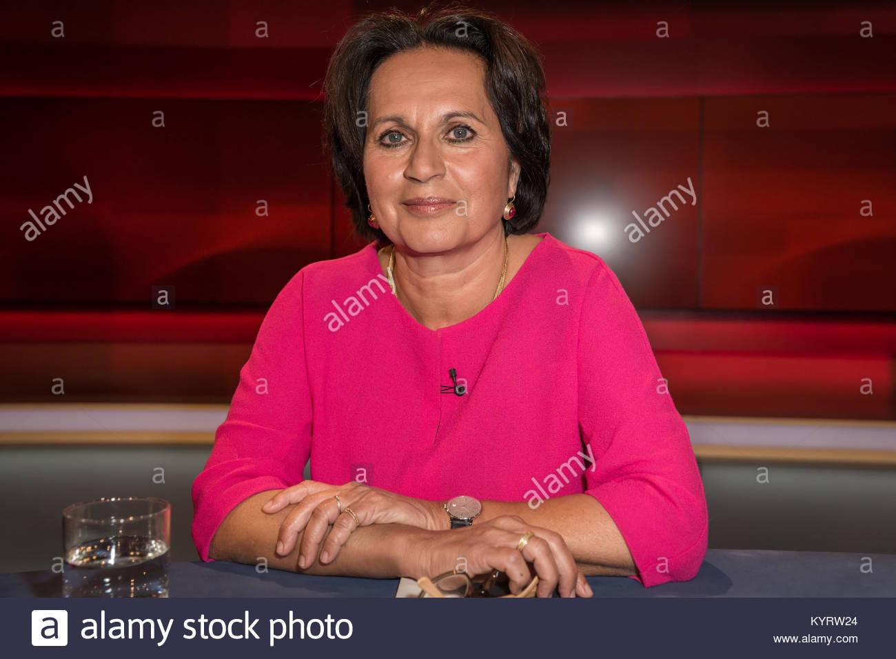 Ferdos Forudastan, die deutsch-iranische Journalistin und Ressortleiterin Innenpolitik d. Sueddeutschen Zeitung - Stock Image
