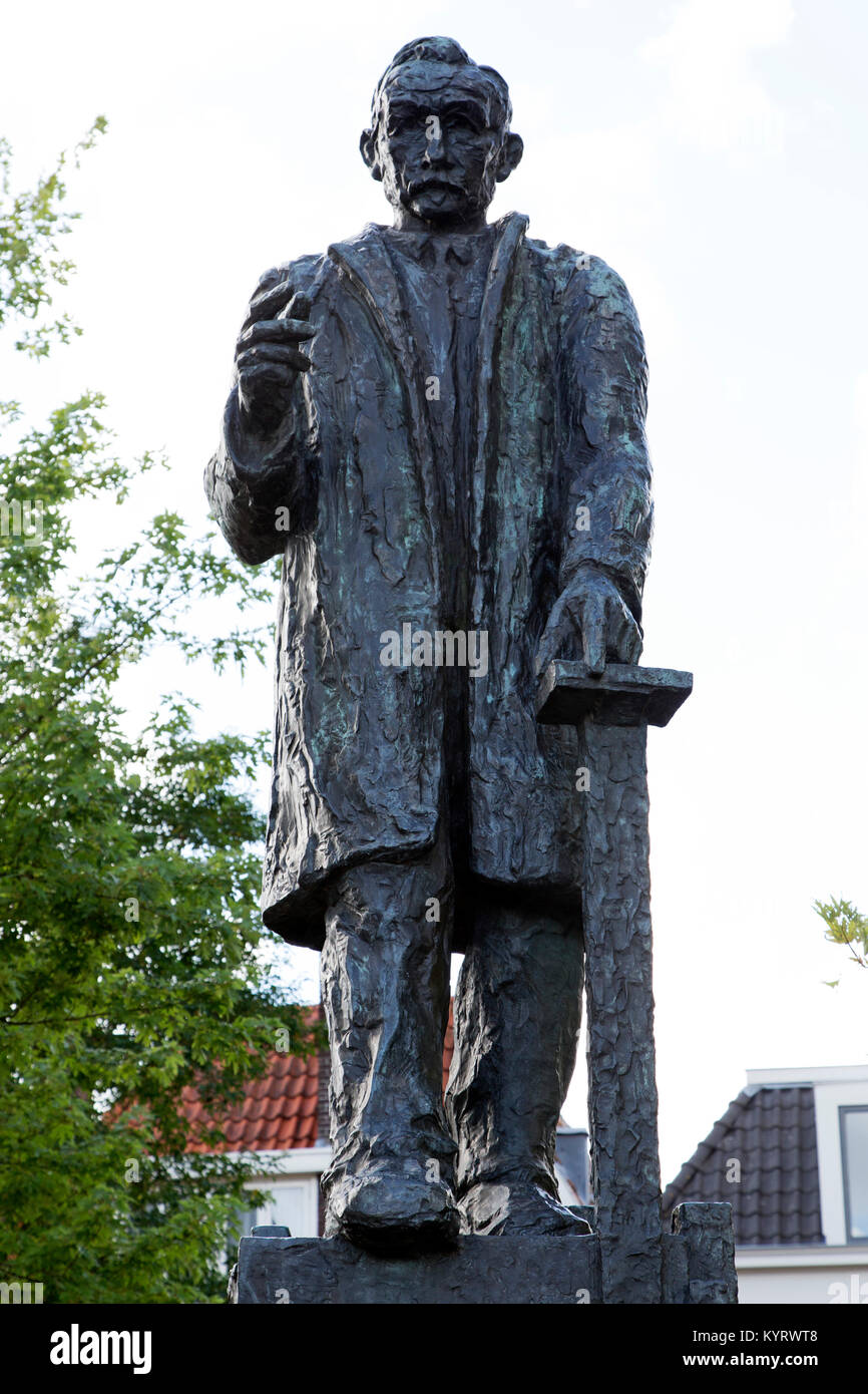 Statue Of Pieter Jelles Troelstra 1860 1930 In