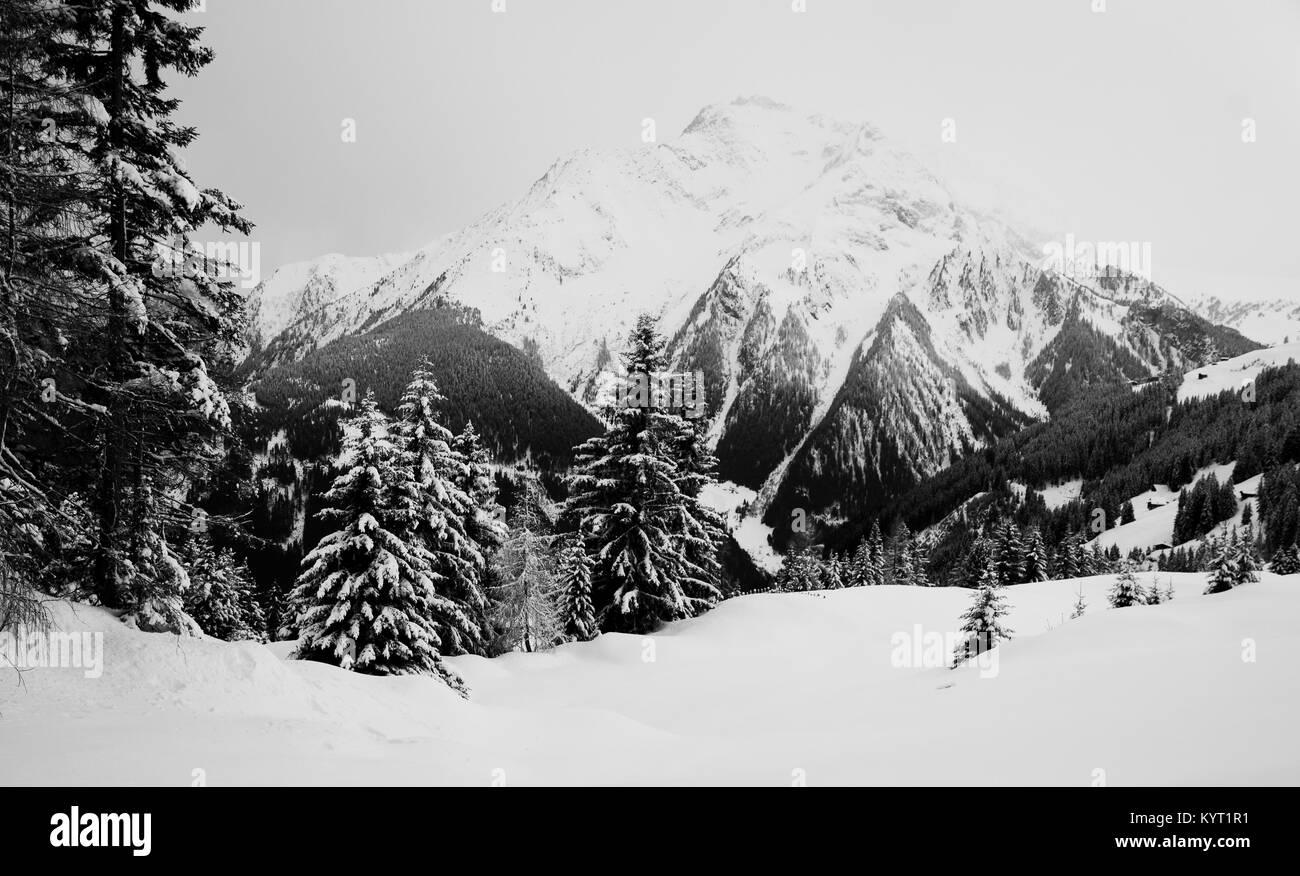 Mountai view - Stock Image