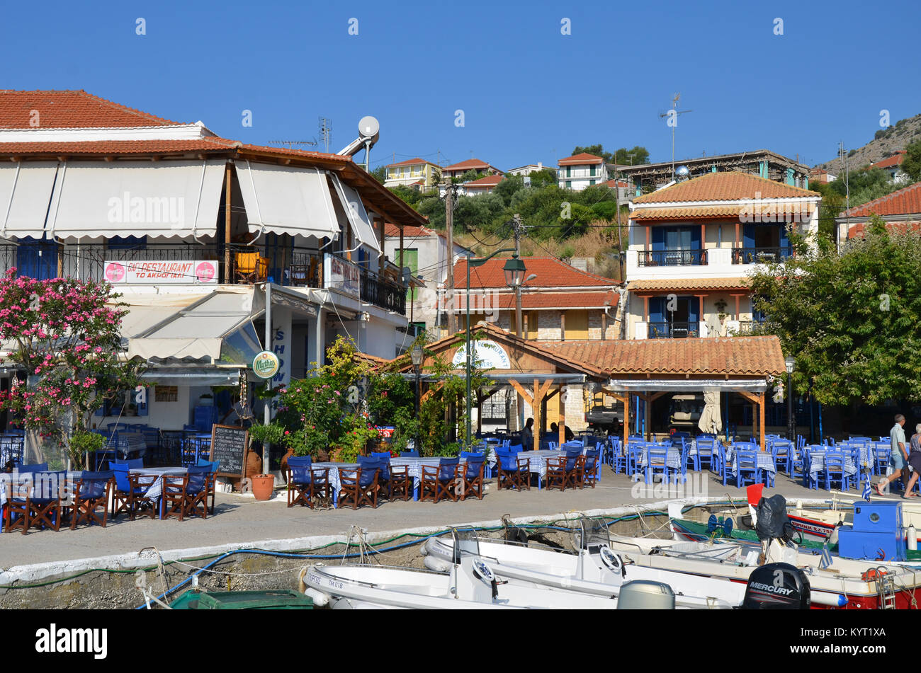 An Ionian Sailing Holiday - Stock Image