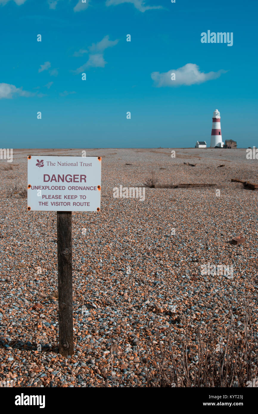 Orford Ness - Stock Image