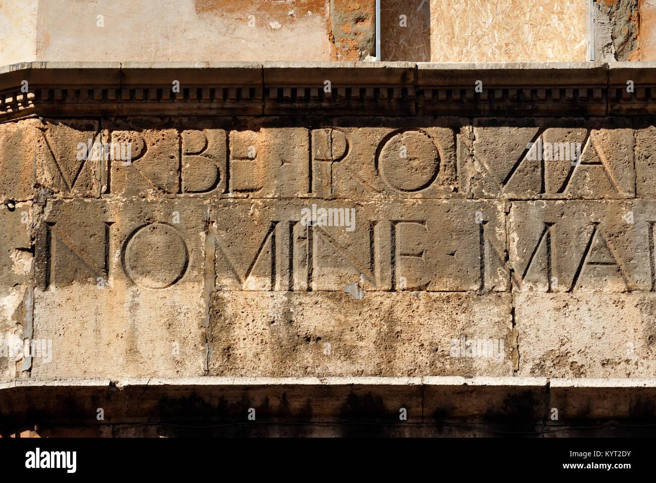 Italy rome jewish via del stock photos italy rome jewish for Design del portico di casa