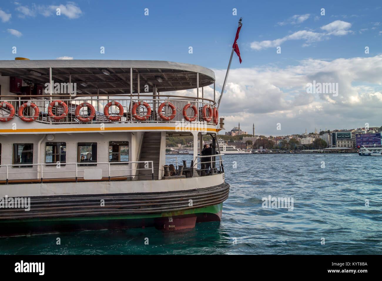 Karaköy İskele Harbor - Stock Image