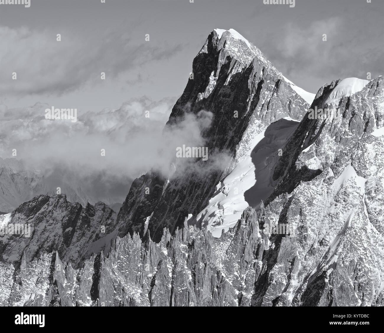 Aiguille du Midi - Stock Image