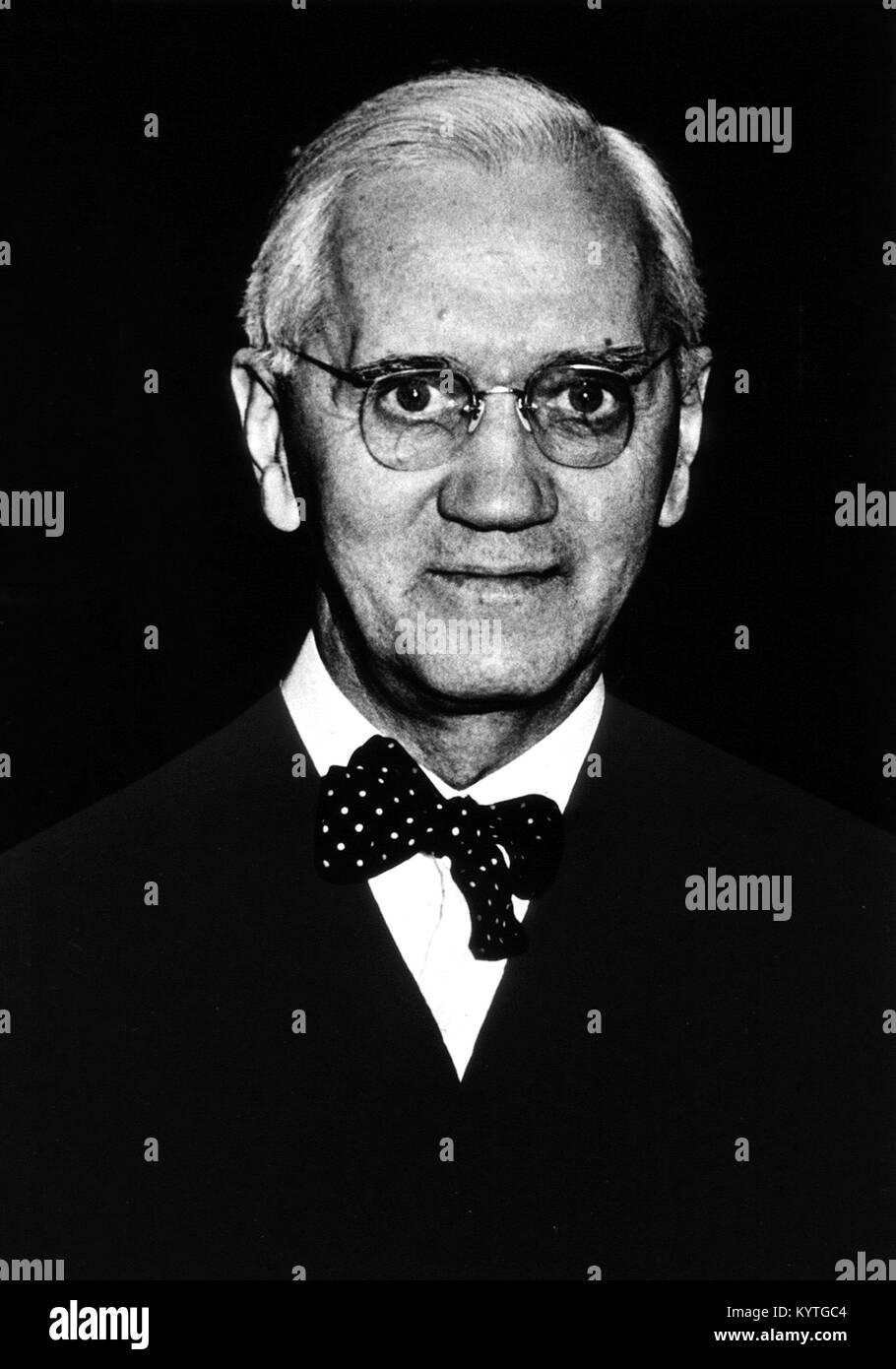 Sir Alexander Fleming (1881-1955), the Scottish scientist famous for the discovery of penicillin. - Stock Image