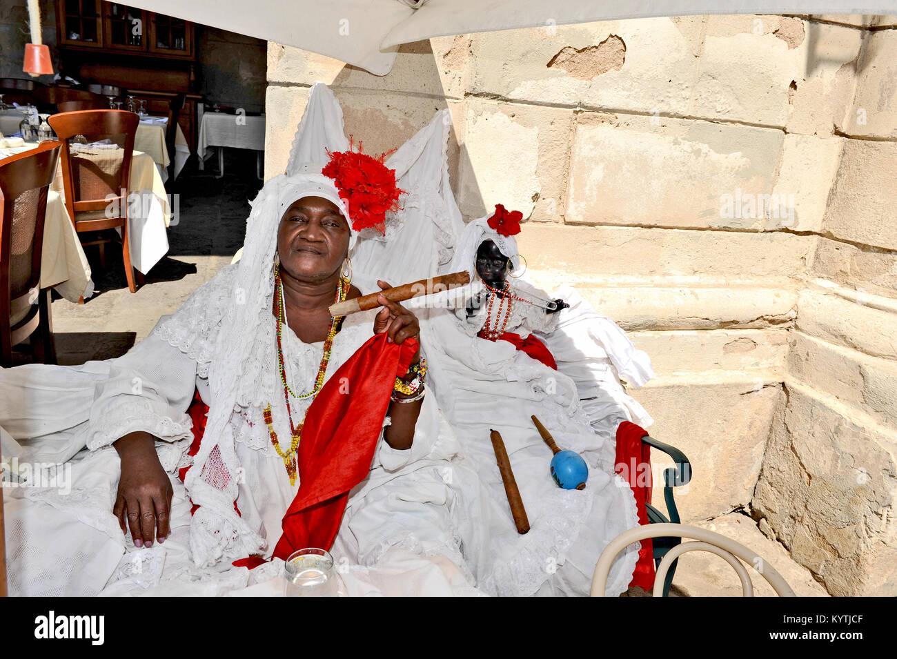 Cuban Woman Santeria Stock Photos & Cuban Woman Santeria
