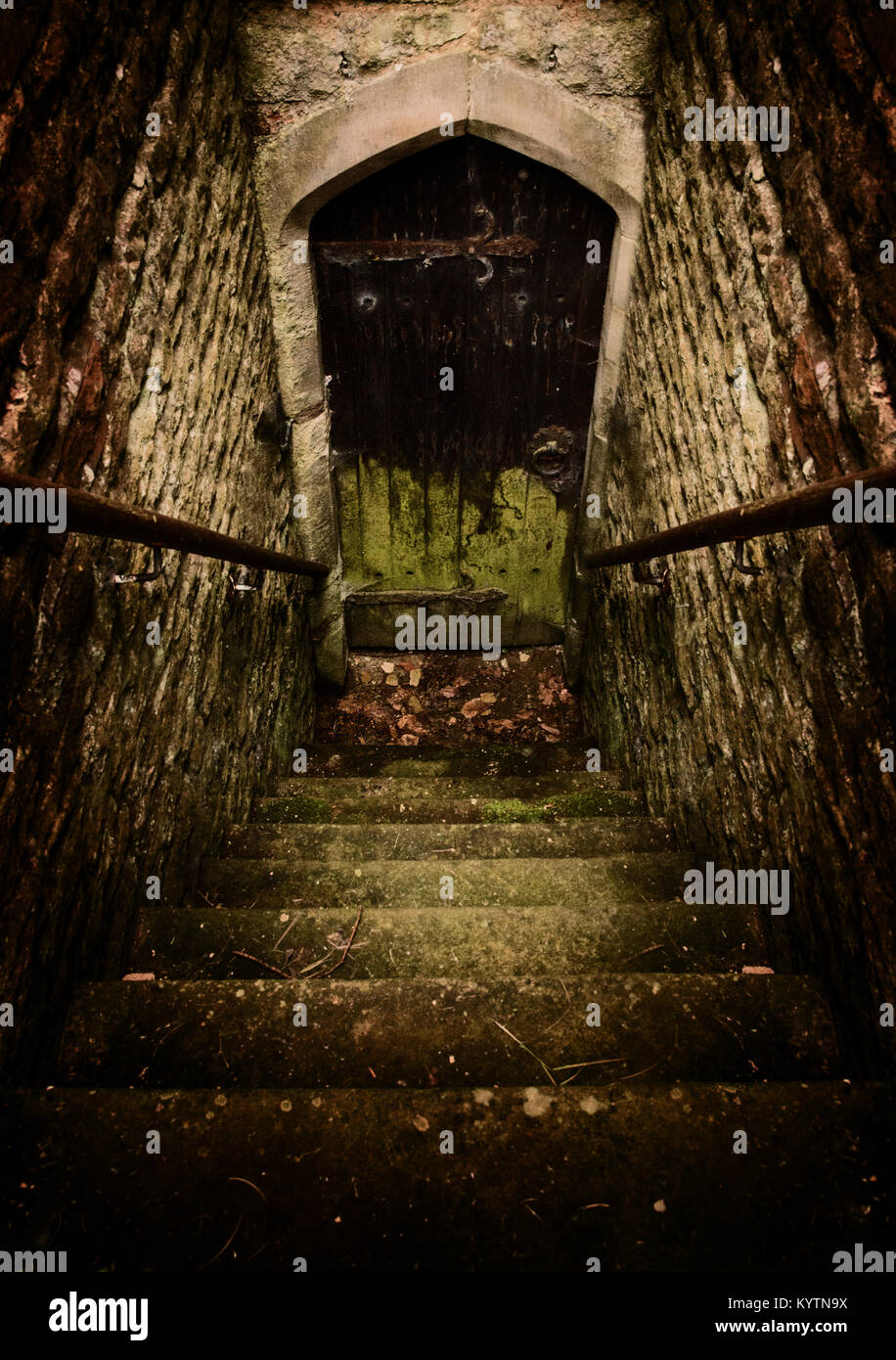 dark basement stairs. Simple Basement Stairs Down To A Damp And Dark Basement Door To Dark Basement U