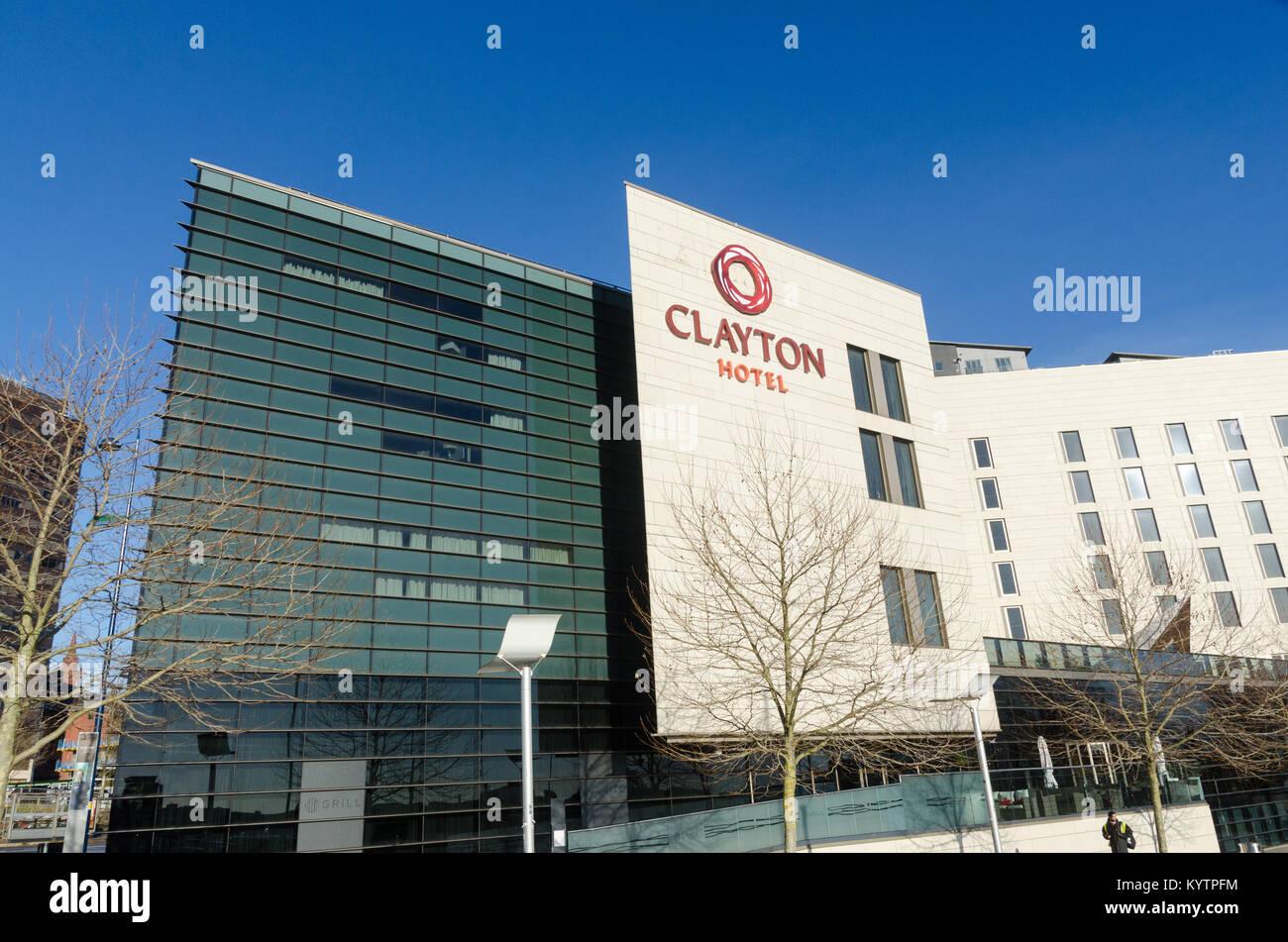 Clayton Hotel in Albert Street, Birmingham City Centre - Stock Image