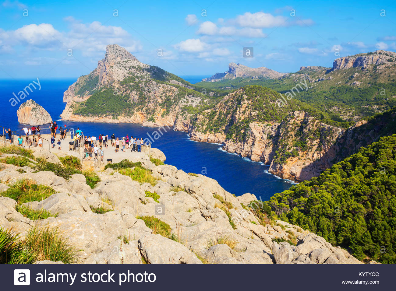 Cap de Formentor, Mallorca, Balearic Islands, Spain, Europe - Stock Image