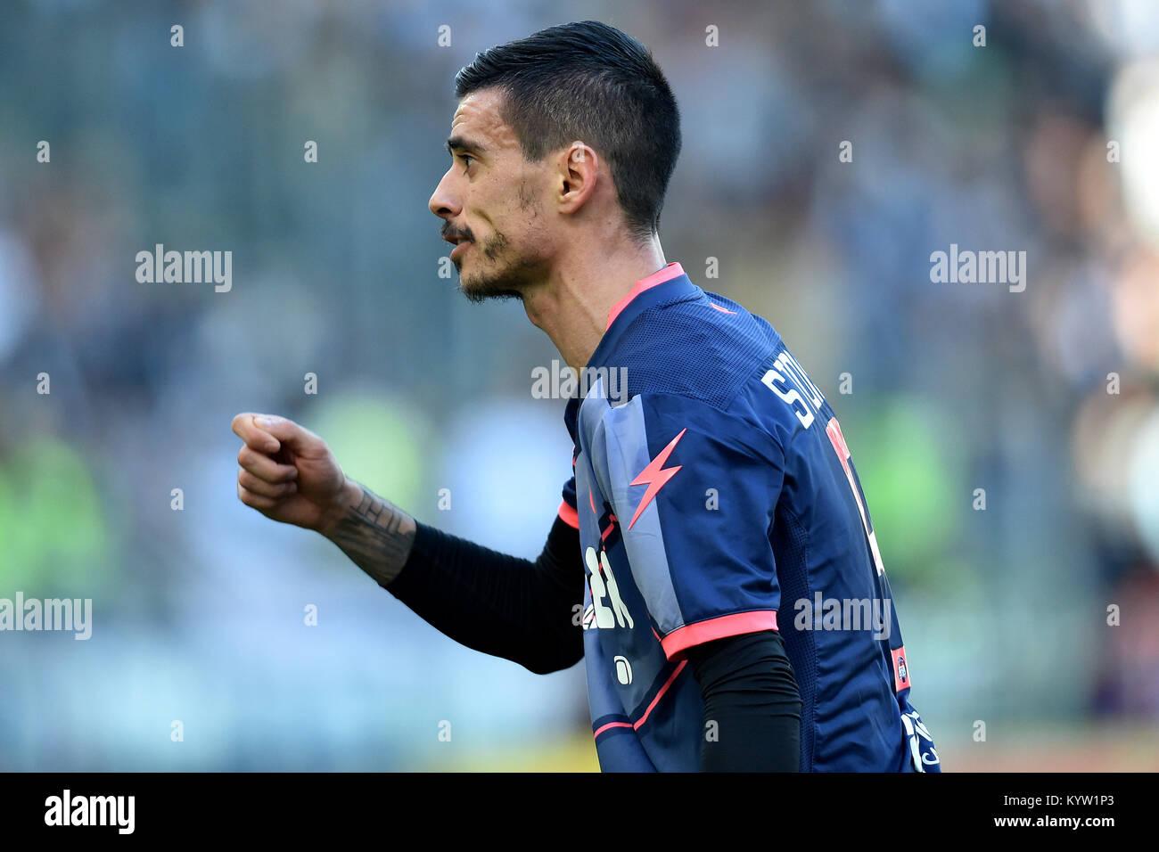Adrian Stoian Crotone  Roma 23-12-2017 Stadio Olimpico Campionato Italiano Serie A 2016/2017  Lazio - Crotone Foto - Stock Image
