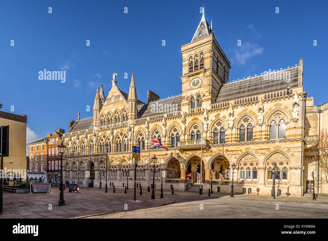 Northampton Guildhall - Stock Image