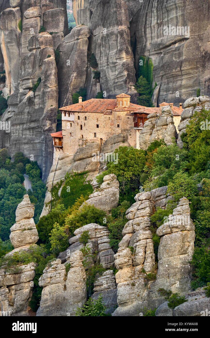 Meteora Monastery, Greece - Stock Image