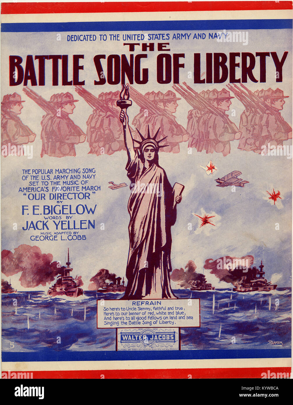 Battle Song of Liberty - Stock Image