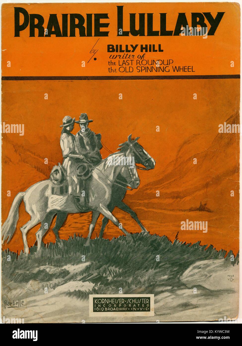 Prairie Lullaby - Stock Image