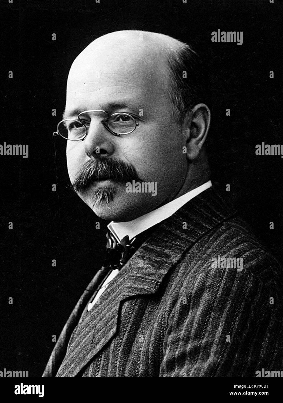 Walther Nernst, Walther Hermann Nernst, German chemist - Stock Image