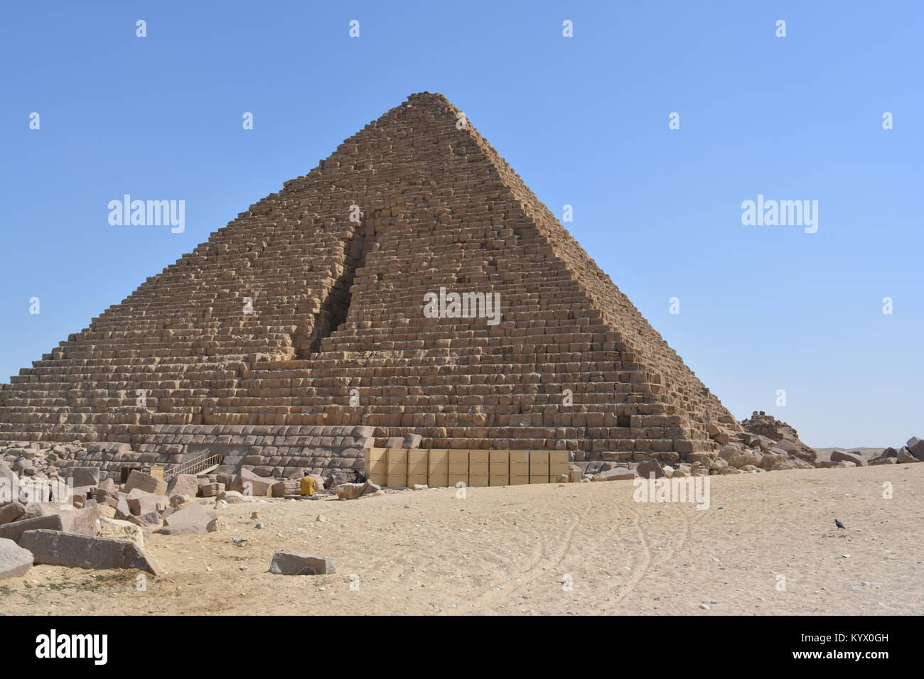 Pyramid of Cheops - Stock Image