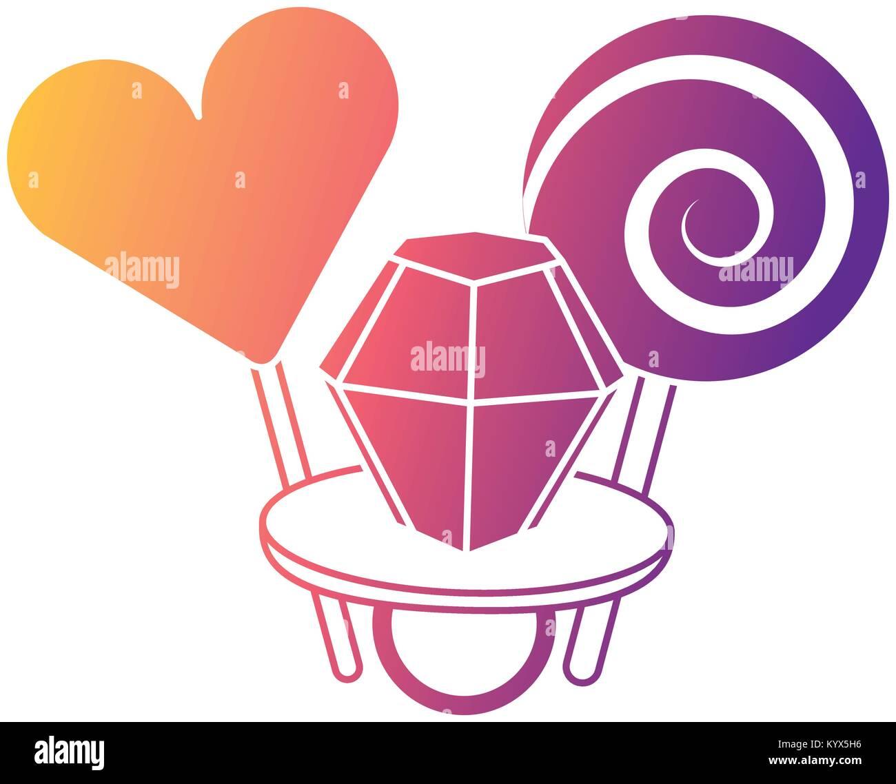 Cartoon Diamond Ring Stock Photos & Cartoon Diamond Ring Stock ...