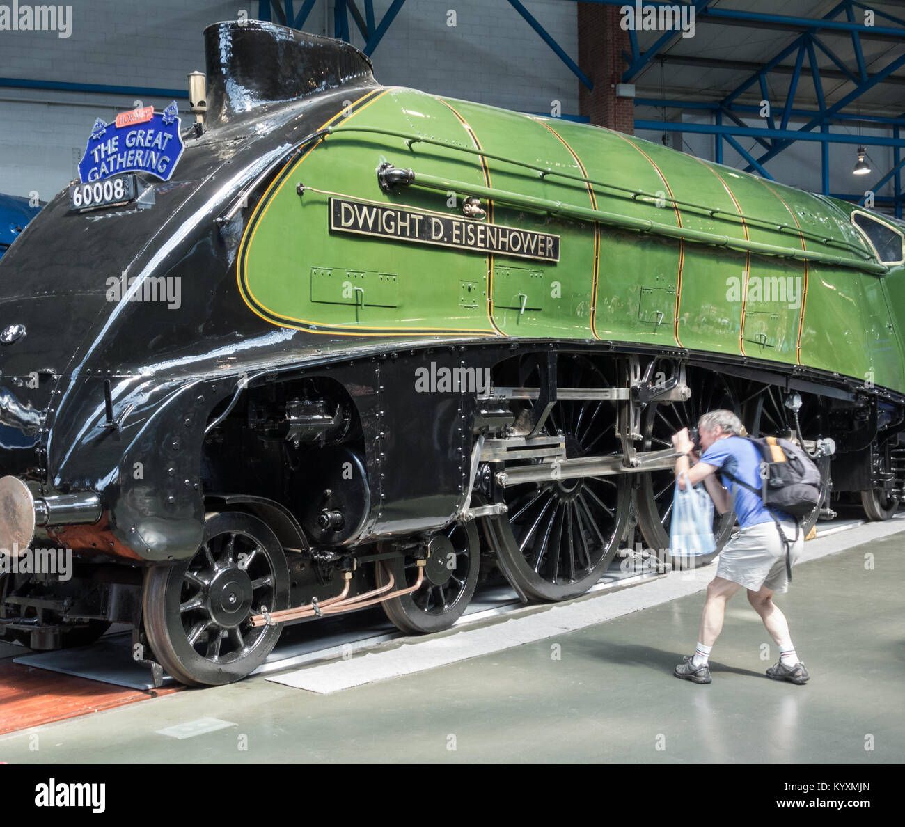 The National Railway Museum in York, Yorkshire, England. UK - Stock Image