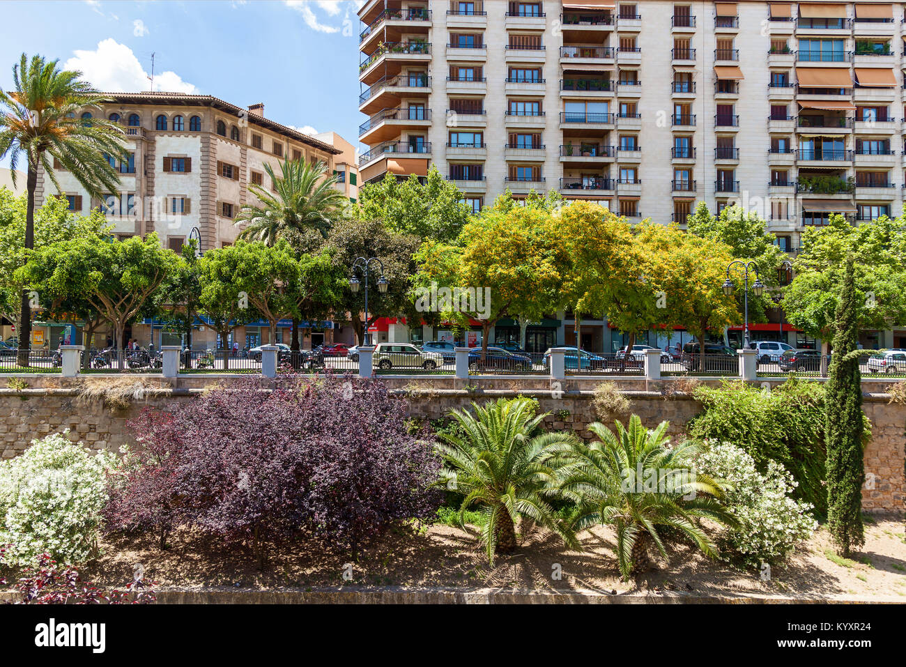 Palma de Mallorca, at home. - Stock Image