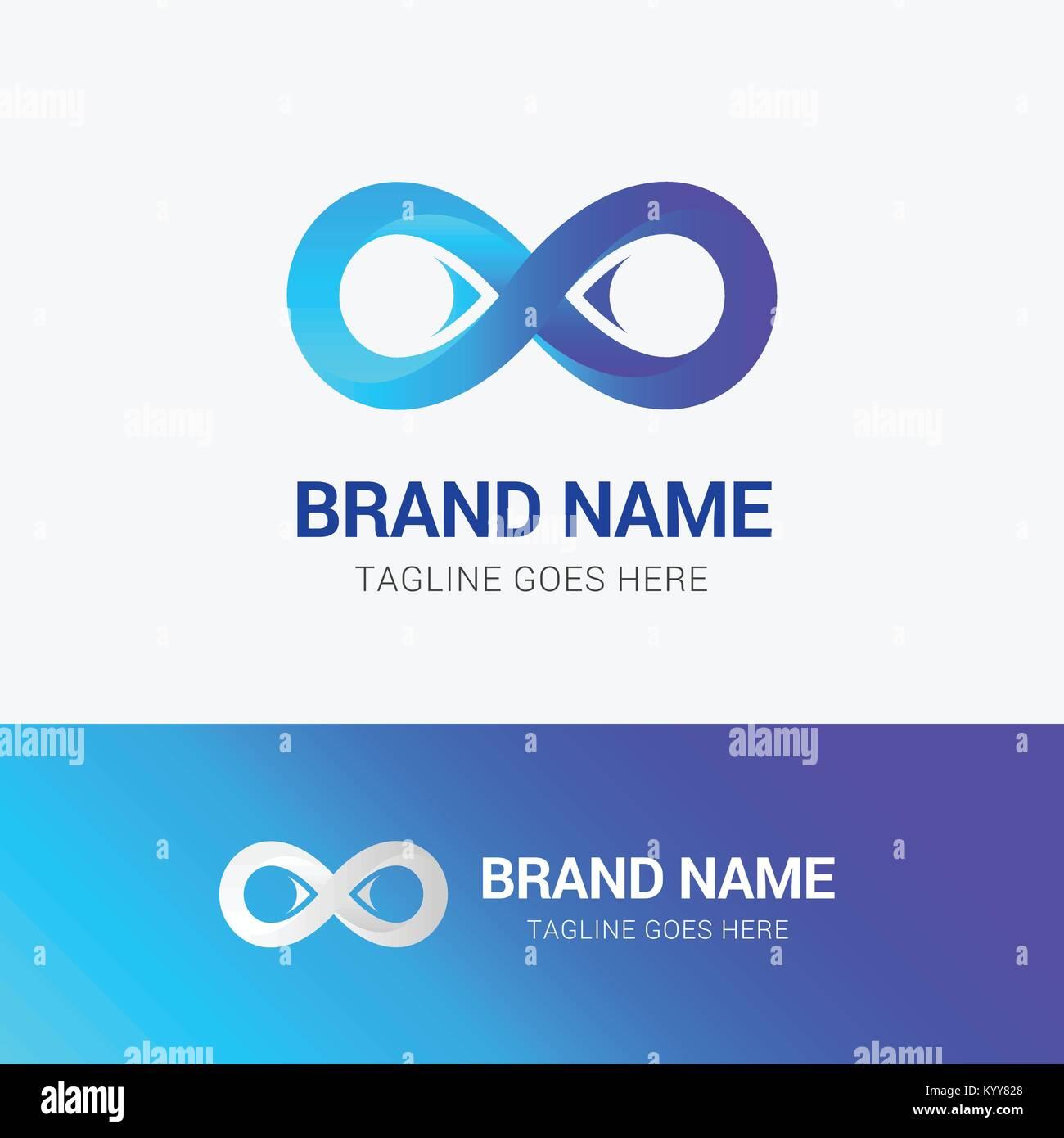 Infinity Logo Template Stock Photos Infinity Logo Template Stock