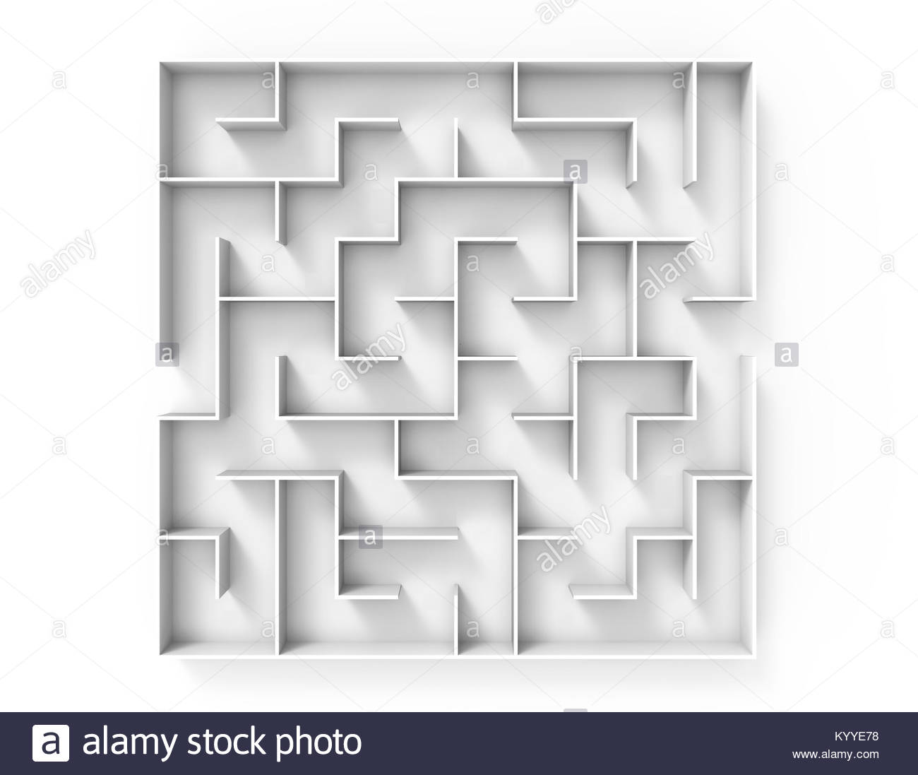 Top View Round Maze Stock Photos & Top View Round Maze Stock Images ...