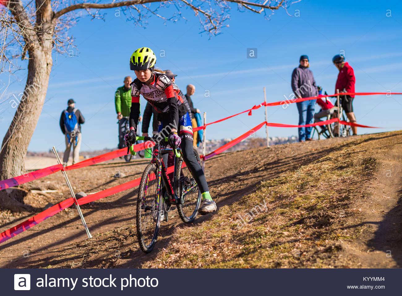2018 USA Cyclocross National Championship in Reno, Nevada. - Stock Image