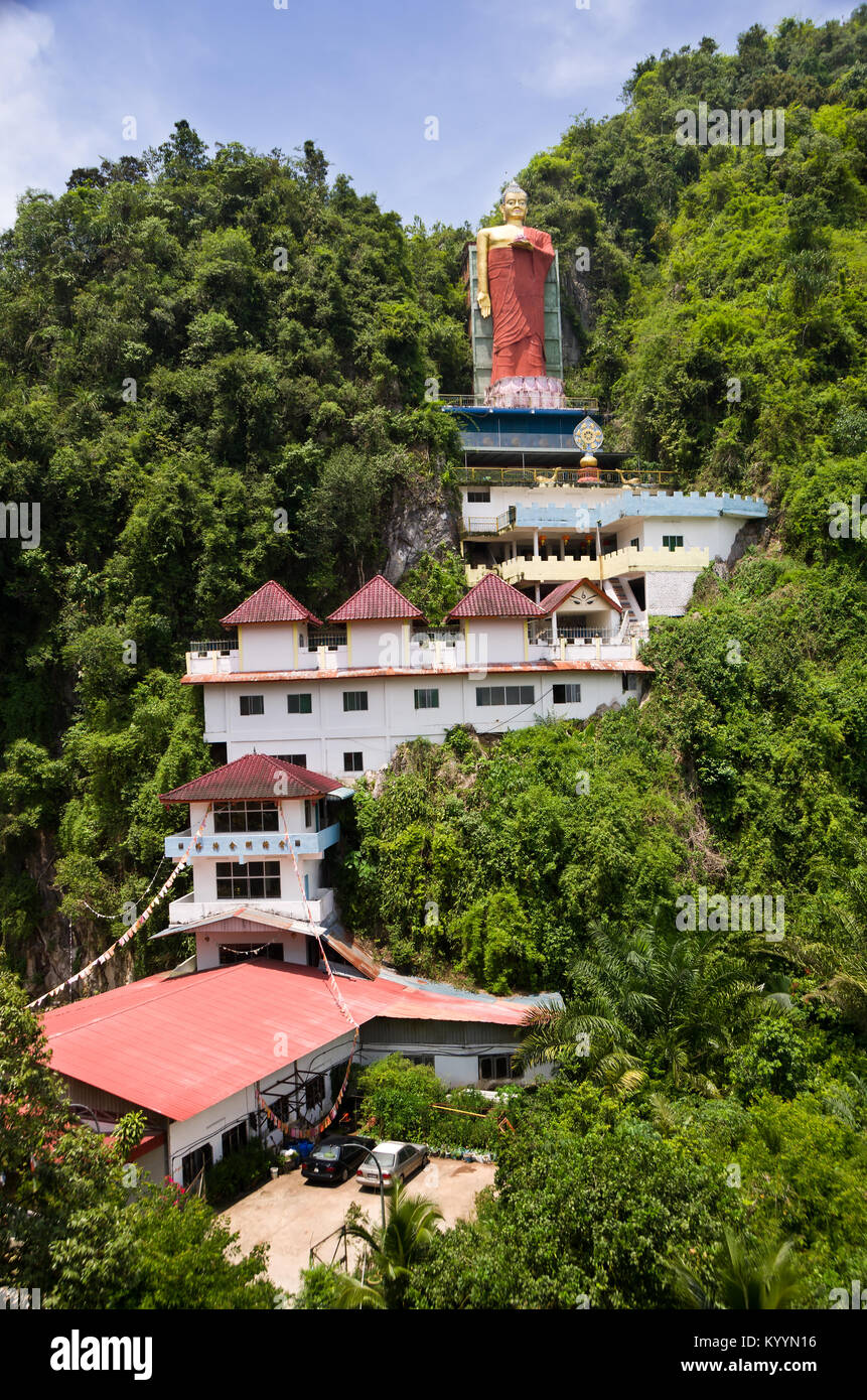 Tambun Tibetian Buddhist Temple, Perak - Tambun Tibetian Temple, also known as Jingang Jing She by the locals, is - Stock Image