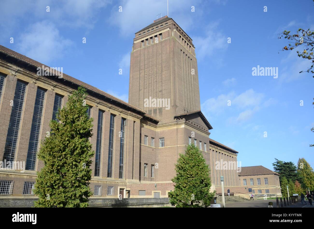University College Library, Cambridge Stock Photo
