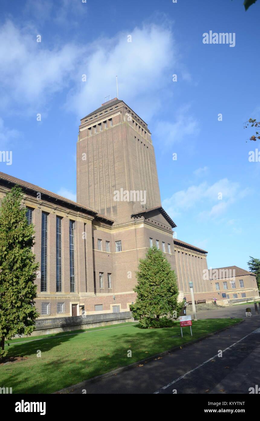 University College Library, Cambridge - Stock Image