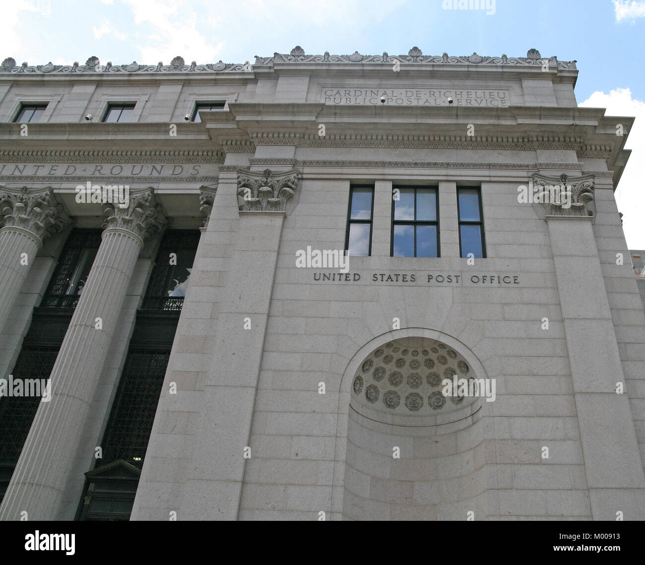 The James A. Farley Post Office Building, New York City, New York State, USA. - Stock Image