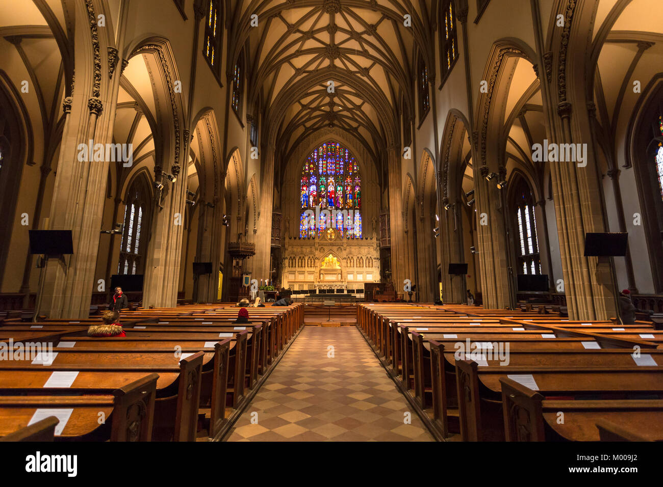 Church in New Your - Stock Image