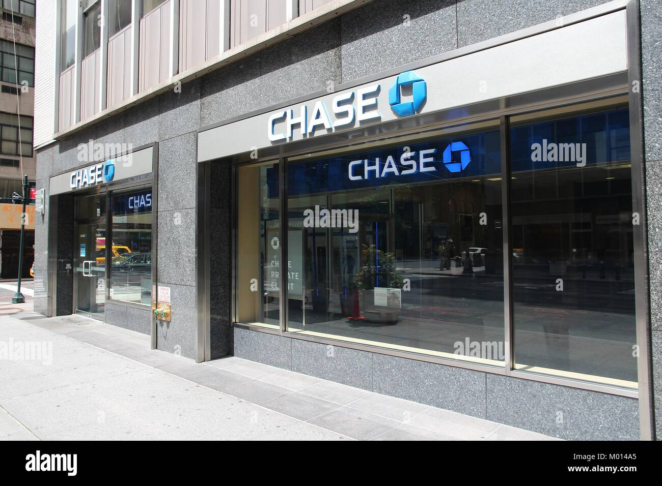 Chase 16 stock photos chase 16 stock images alamy new york july 4 chase bank branch on july 4 2013 in new reheart Choice Image