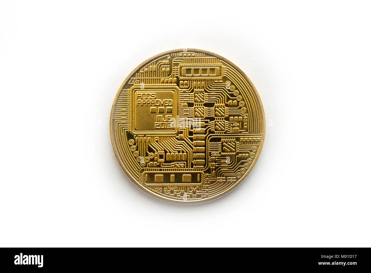 Single bitcoin back coin on white background stock photo 172135859 single bitcoin back coin on white background ccuart Images