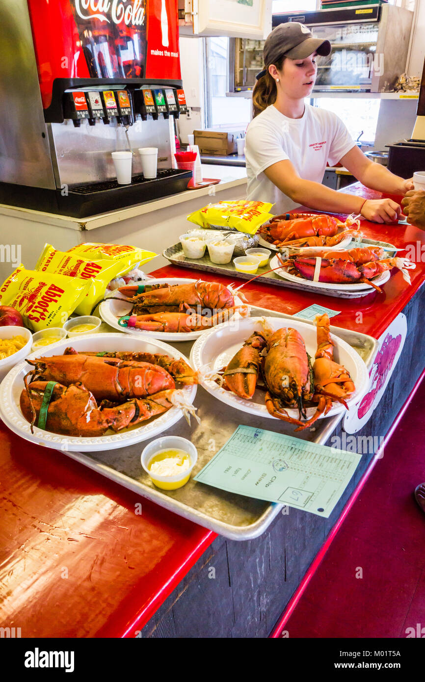 Abbotts Lobster In The Rough Noank Connecticut USA