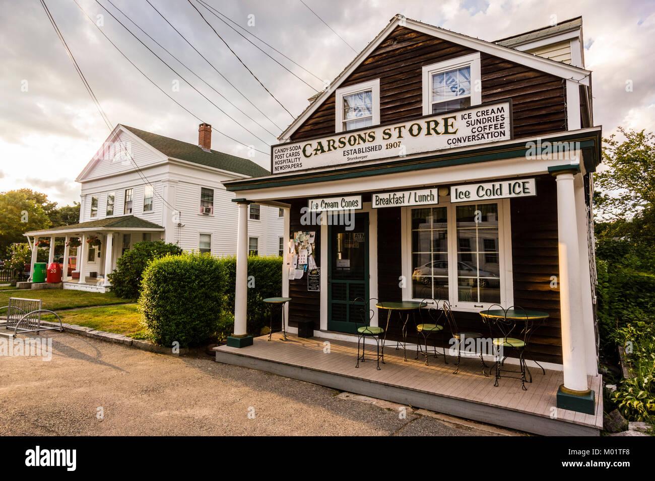 Carson's Store   Noank, Connecticut, USA Stock Photo