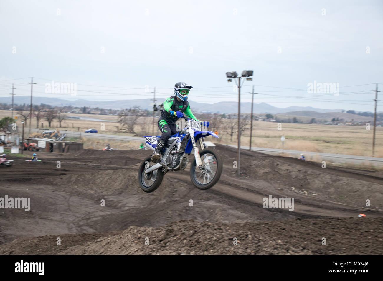 Dirt Bike Motocross - Stock Image