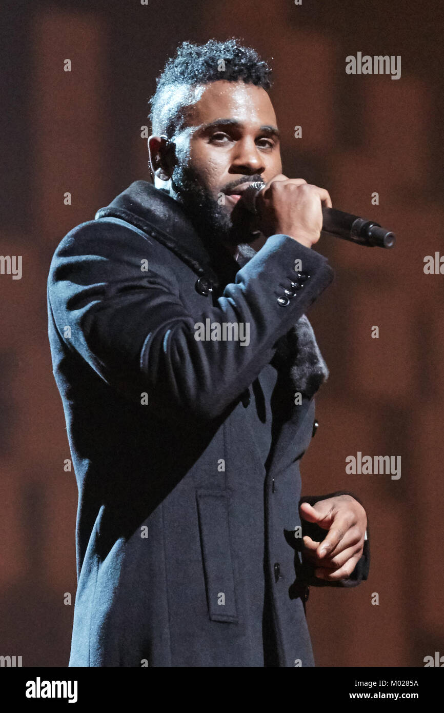 The American R&B singer, songwriter and musician Jason
