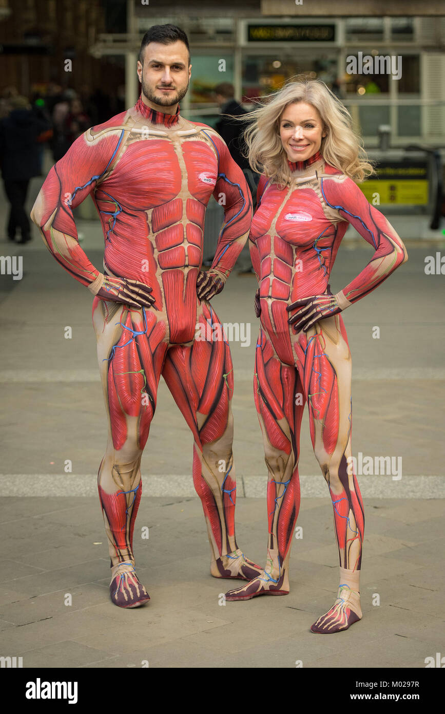 Nell Mcandrew And Doctor Emil Hodzovic Wearing Inner Body Suits