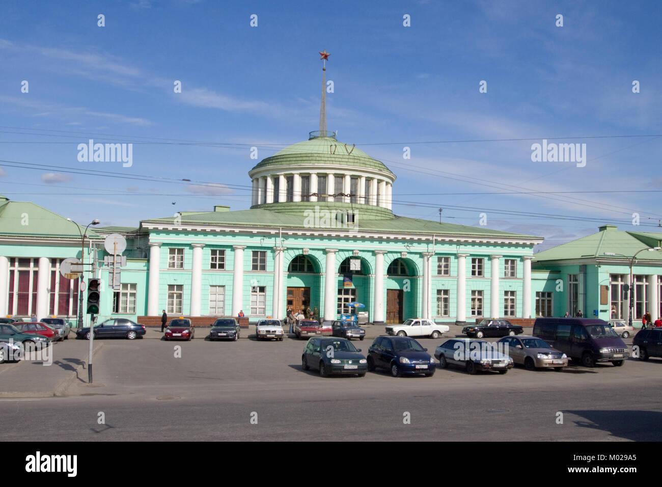 Murmansk, Russia - June 26, 2010: Station Murmansk - Stock Image