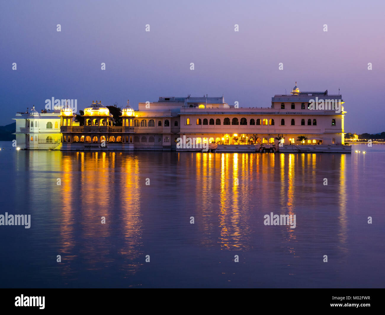 Taj Lake Palace Udaipur - Stock Image