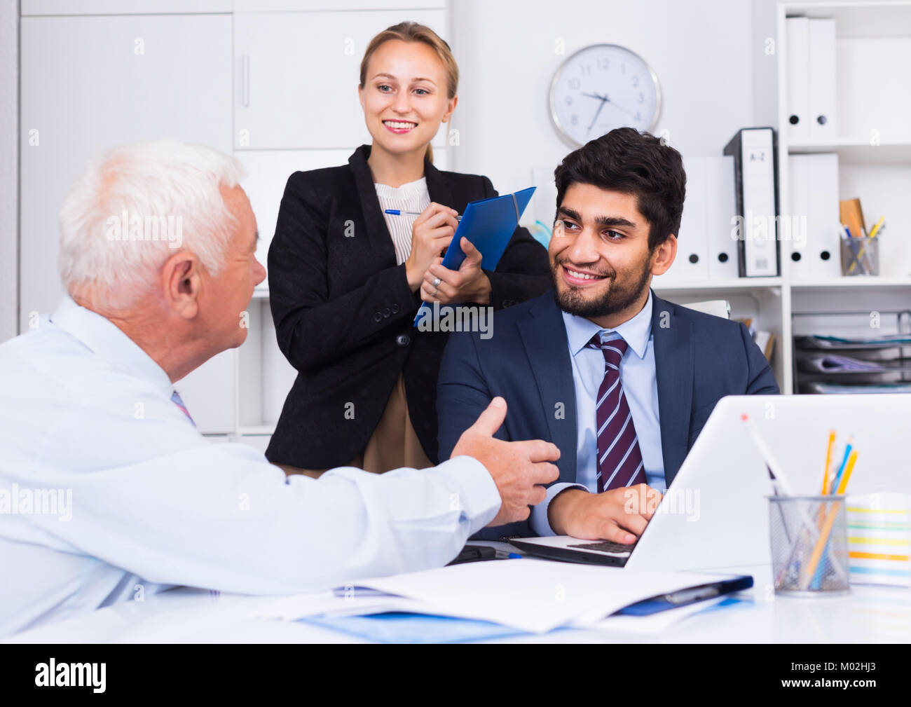 mature secretary stock photos & mature secretary stock images - page