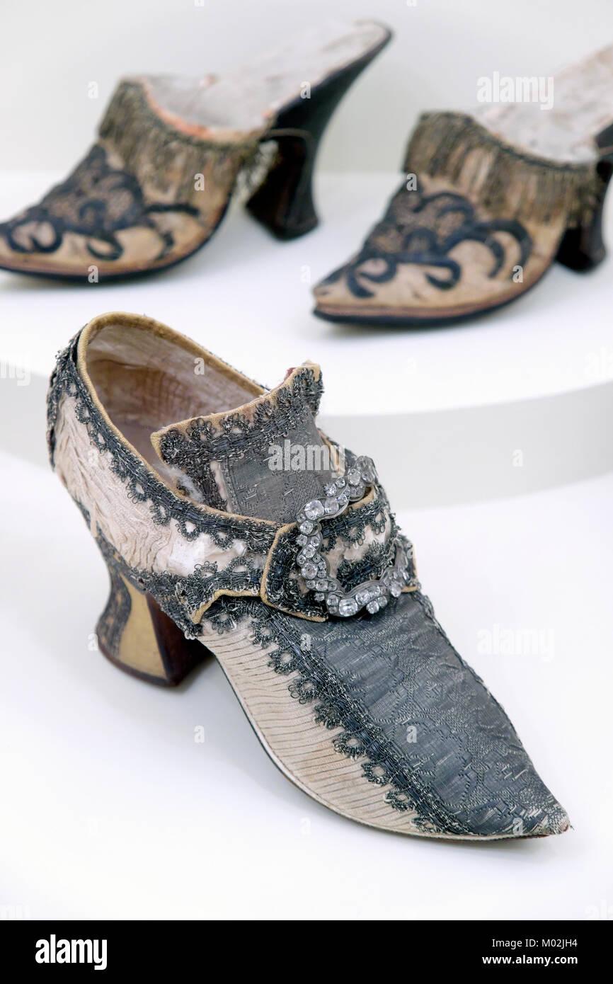 Musee International de la Chaussure / International Shoe Museum, Romans-sur-Isère, Drôme, France - Stock Image