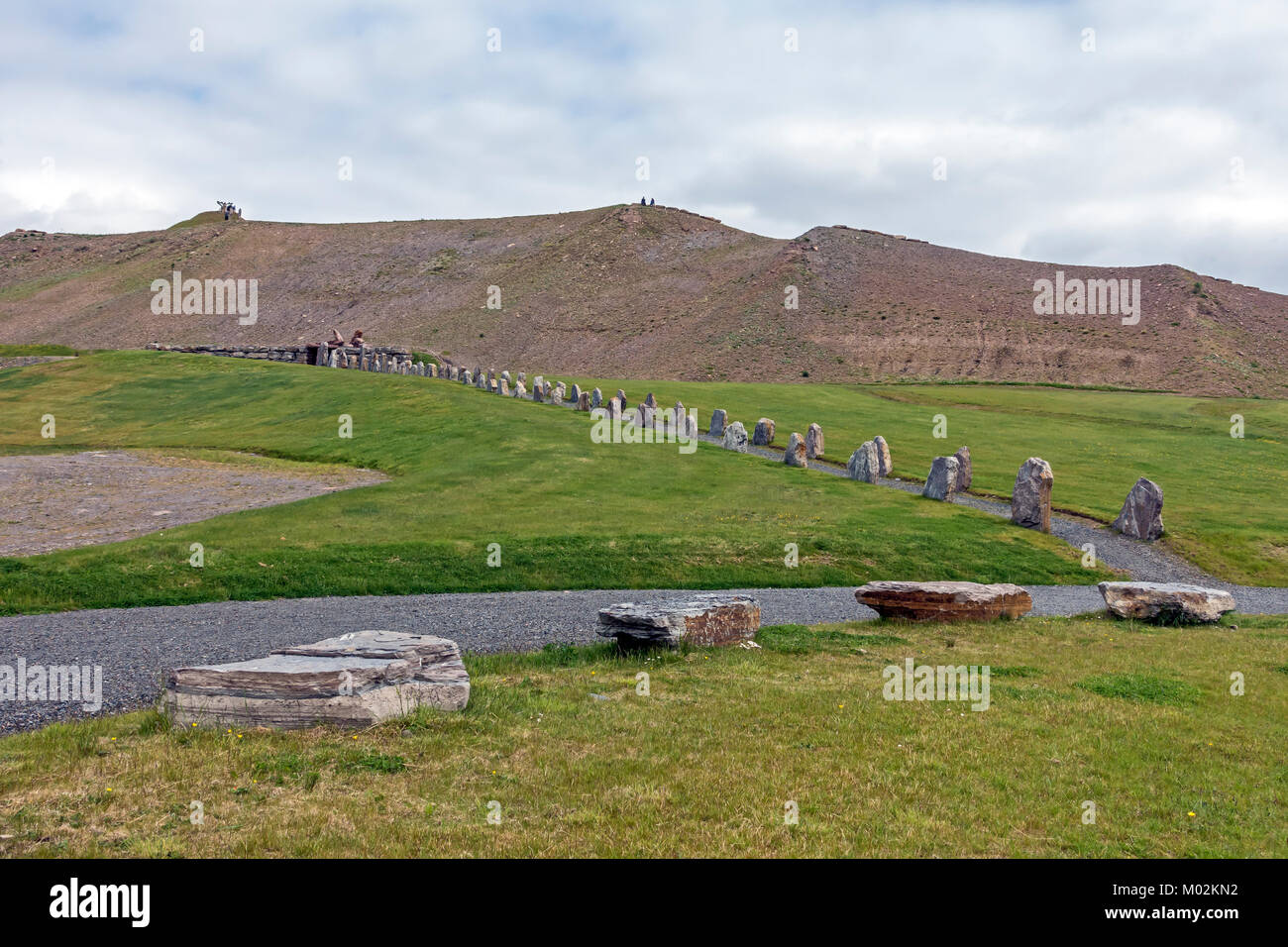 Crawick Multiverse land restoration and art project Sanquhar Dumfries and Galloway Scotland UK - Stock Image