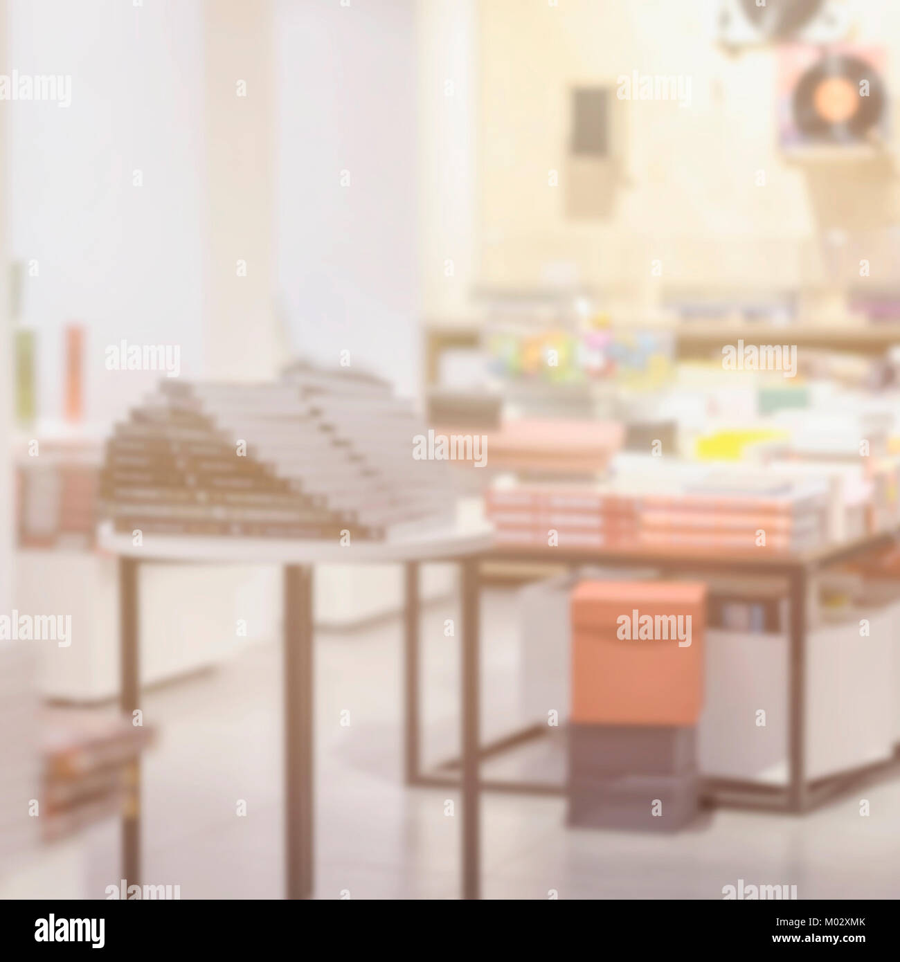 Modern Light bookstore, interesting places to visit, read, information and learning - Stock Image